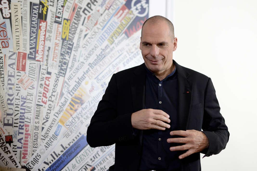 Yanis Varoufakis, l'ancien ministre grec des finances, à Rome, en mars.
