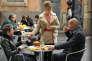 De gauche à droite : Thibaud Vaneck (Nathan), Celine Vitcoq (Wendy) et Virgile Bayle (Guillaume) dans «Plus belle la vie».