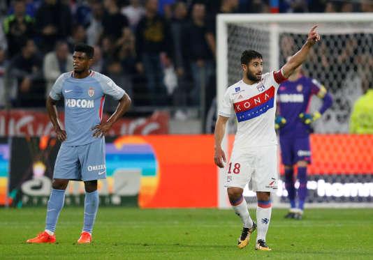 L'Olympique lyonnais s'est imposé face à l'AS Monaco, grâce notamment à un doublé de Nabil Fekir, vendredi 13 octobre.