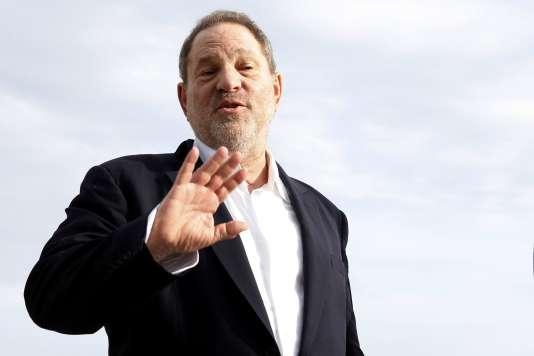 Le producteur Harvey Weinstein, au Mipcom, à Cannes, le 5 octobre 2015.