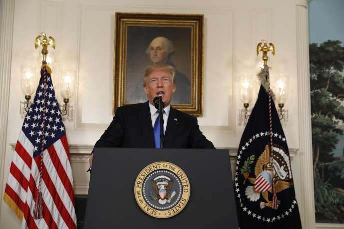 Le président américain Donald Trump, le 13 octobre à Washington.