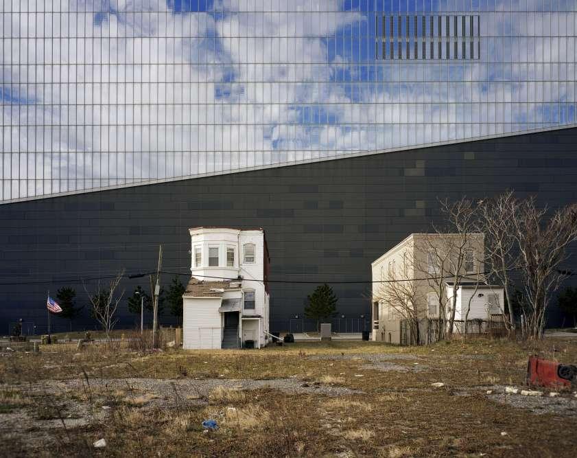 La façade d'un casino d'Atlantic City, dans le New Jersey, aux Etats-Unis.