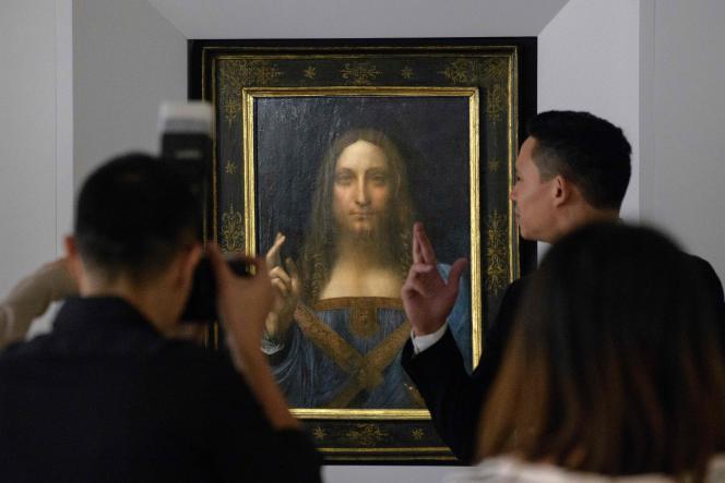 L'Arabie saoudite, propriétaire du tableau, avait demandé à la France d'expertiser la toile avant un prêt éventuel pour la grande rétrospective Léonard de Vinci au Louvre (octobre 2019 - février 2020).
