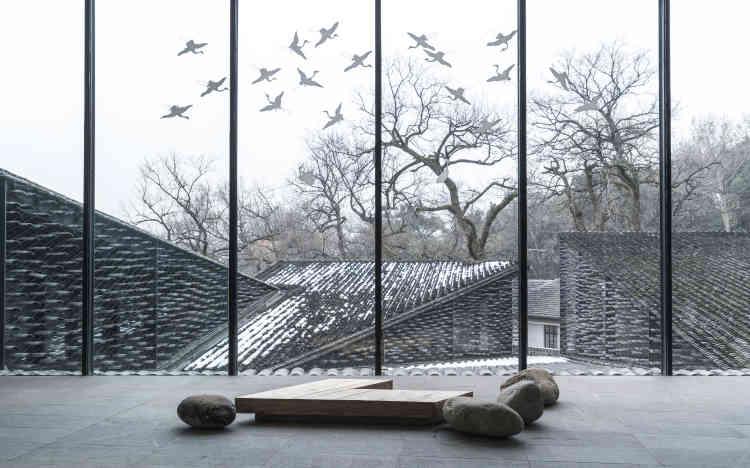 Le Folk Art Museum, à Hangzhou, en Chine.