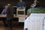 Vote pour le second tour de l'éclection présidentielle, à Strasbourg, le 7 mai 2017.