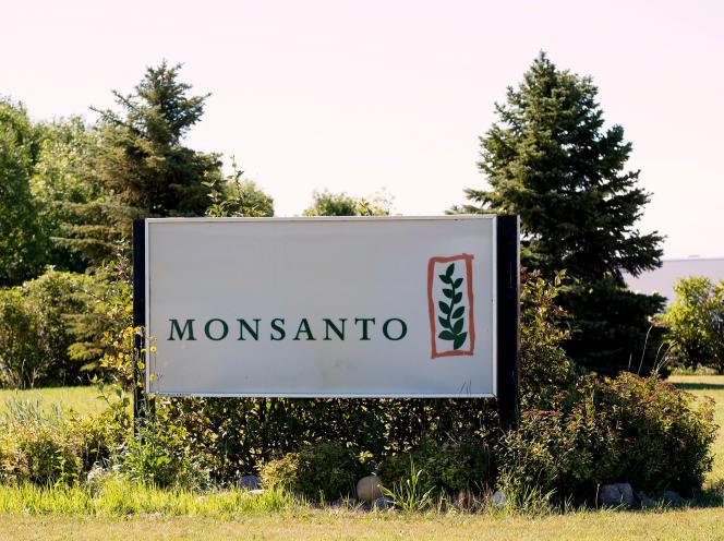 L'entreprise Monsanto à Carman au Canada, le 3 août 2017.