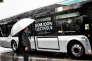 Un Bluebus, autobus électrique construit par le groupe Bolloré.