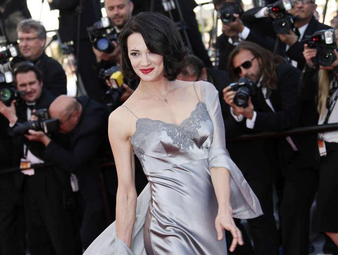 Asia Argento au Festival de Cannes en mai 2013.