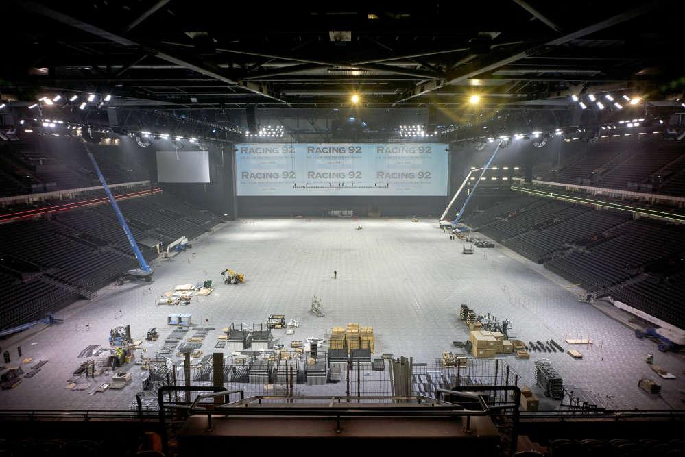 l u arena plus grande salle de spectacle d europe On interieur u arena