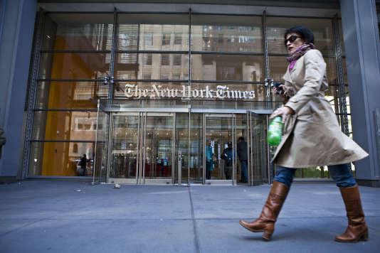 Parmi les journalistes mis en cause par la liste «Shitty Media Men»certains travaillent au «New York Times», au «Wall Street Journal»ou Buzzfeed.
