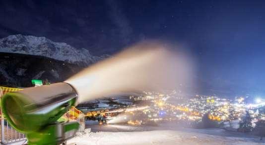 A Rohrmoos près de Schladming, en Autriche en janvier 2015. L'Autriche est le leader européen du ski en station.