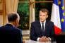 Emmanuel Macron, le 15 octobre lors d'un entretien accordé à la chaîne TF1.