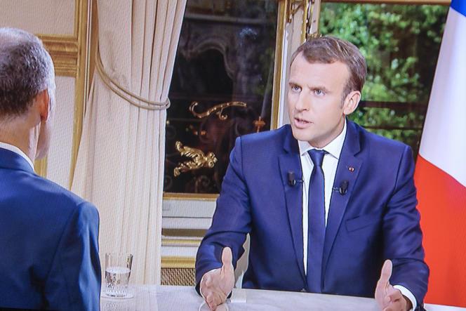 Lors de l'interview, Emmanuel Macron a répété sa volonté d'améliorer le taux de renvoi des migrants.