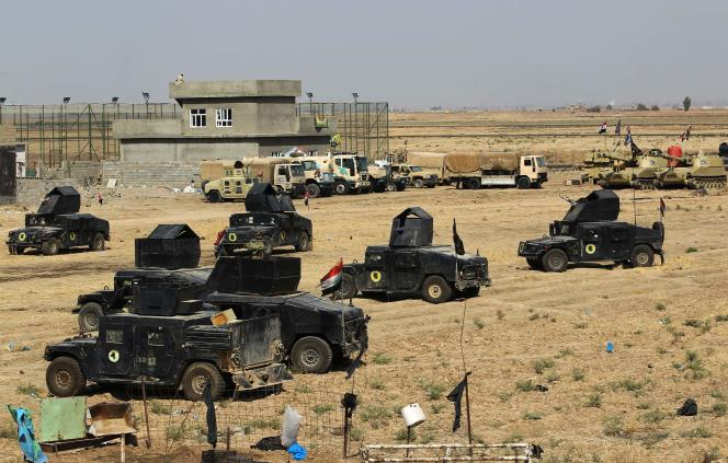 Les forces irakiennes ont quitté Taza Khormatou, au sud de Kirkouk, le 15 octobre.