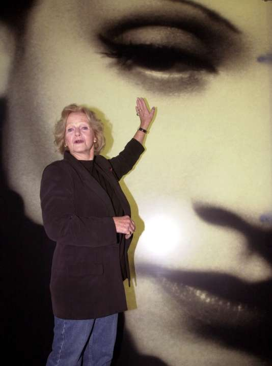 Maria Riva auteure de « Marlene Dietrich par sa fille » (Flammarion, 1992).