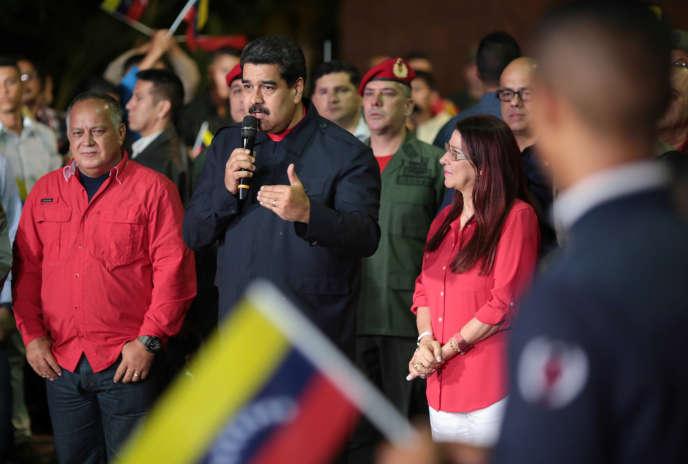 Le président du Venezuela, Nicolas Maduro, le 15 octobre 2017.