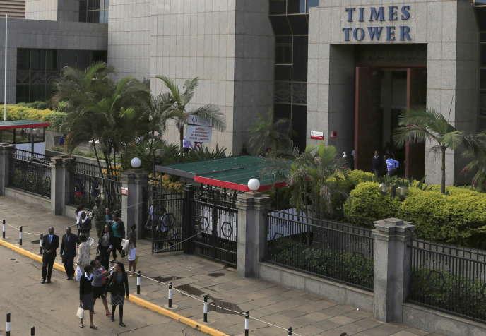 Le siège de l'administration fiscale du Kenya, KRA, à Nairobi en 2015.