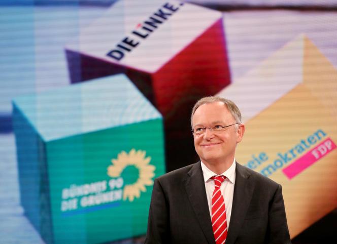 Stephan Weil et son parti le SPD sont arrivés en tête des votes dans le Land de Basse-Saxe, le 15 octobre.