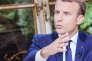 Emmanuel Macron interviewé sur TF1, dimanche 15 octobre 2017.