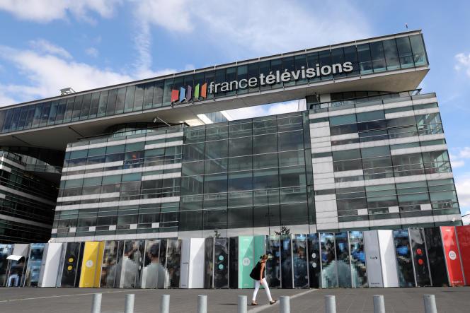 Le siège de France Télévisions, le 4 septembre 2017, à Paris.