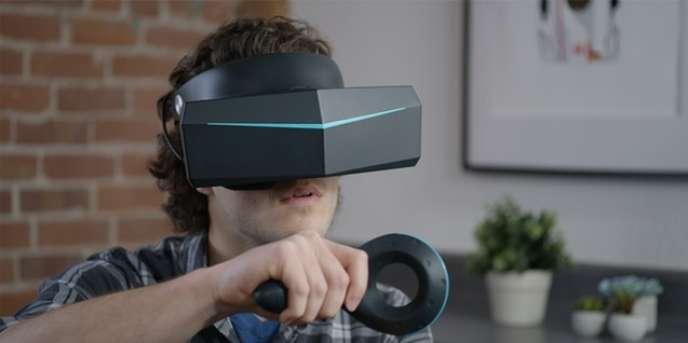 Le prototype de casque de VRPimax 8K.