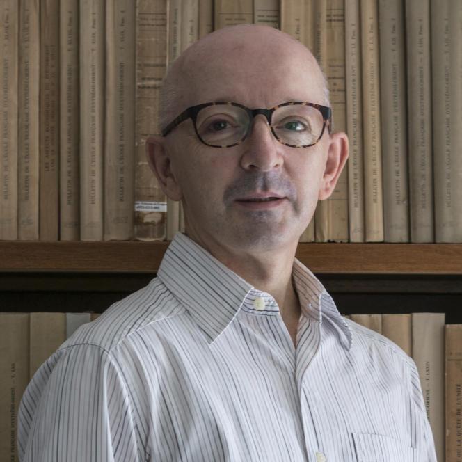 Jacques Leider, historien spécialiste de la Birmanie.