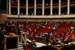 A l'Assemblée nationale lors d'une session de questions au gouvernement à Paris le 17 octobre.