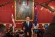 Sebastian Kurz au palais présidentiel autrichien à Vienne, le 17 octobre.