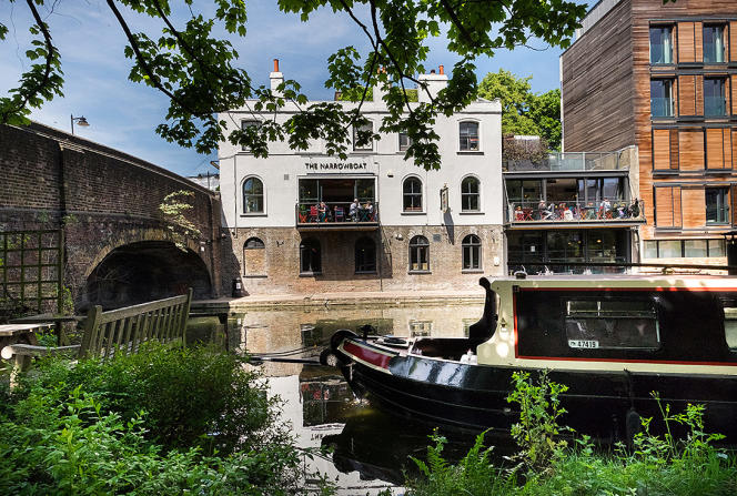 The Narrowboat Pub à Londres.