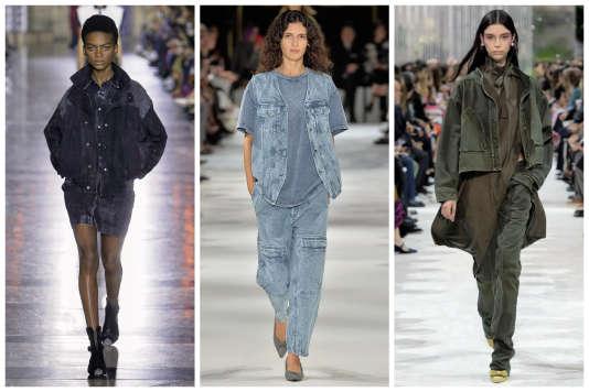 De gauche à droite :Givenchy, Stella McCartney et Valentino.