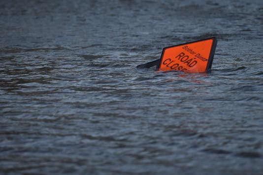 Lors du passage de la tempête Ophelia à Galway (Irlande) le 16 octobre.