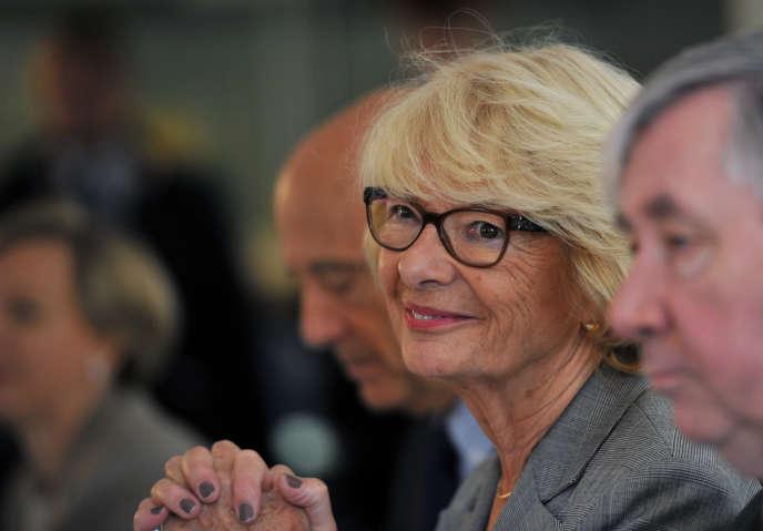 L'eurodéputée LR Elisabeth Morin-Chartier, à Poitiers (Vienne), en novembre 2016.