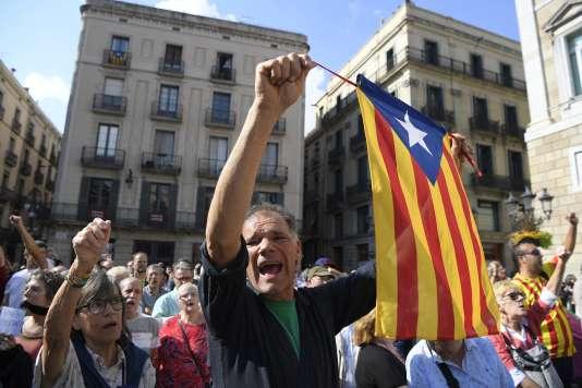 Rassemblement à Barcelone le 17 octobre.