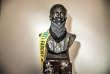 Sur le campus de Berkeley (Californie), le 25 septembre, des étudiants ont bâillonné le buste de Benjamin Ide Wheeler (1854-1927), ancien président de l'université, pour protester contre la venue de conférenciers d'extrême droite.