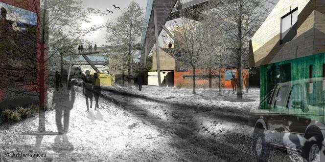 Un projet de quartier imaginé par Akhenspaces