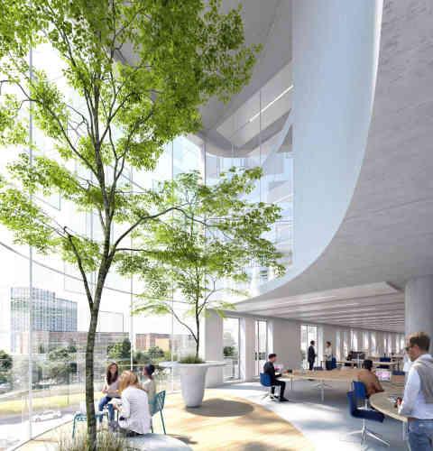 A Bagnolet,le projet porté par Vinci Immobilier est un bâtiment tertiaire de 5 458 m², abritant des commerces, des bureaux et des espaces verts. C'est aussi un lieu dédié à la haute-couture, avec un incubateur de la mode textile et un atelier FashionTech, comprenant une médiathèque textile et un showroom.