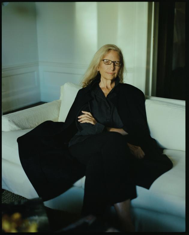 Annie Leibovitz chez elle,à New York, le 10 octobre.