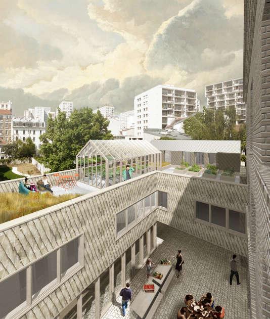Une partie de la programmation du projet La Grande Coco dans le 20e à Paris évoluera en fonction des usages expérimentés sur le site, avant même son aménagement.