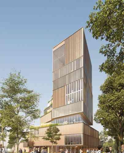 Linkcity prévoit à Vitry-sur-Seine, dans la ZAC Cherioux, des innovations ciblant denouveaux usages et la transition numérique et énergétique. Un campus de 87 812 m2 (neuf et réhabilitation)sera déployé en plusieurs phases.