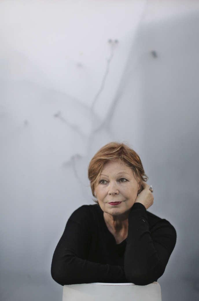 L'écrivaine Lydie Salvayre, en 2014.