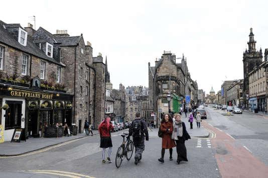 Edimbourg, à deux pas du château et du Royal Mile.