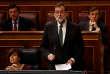 « Je demande à Puigdemont de se comporter raisonnablement, d'une manière équilibrée, de donner la priorité aux intérêts de tous les citoyens », a déclaré Rajoy devant le Parlement espagnol.