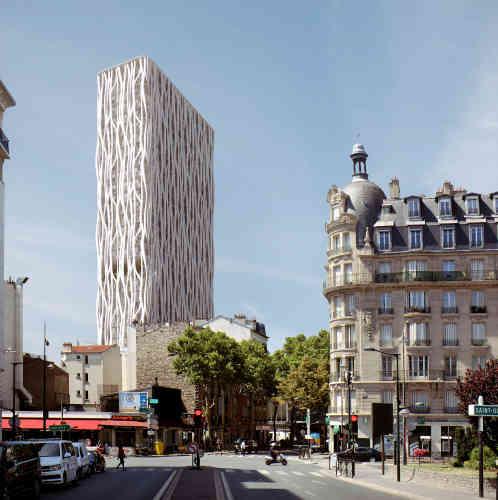 A Clichy-la-Garenne, le projet, qui s'étend sur 14 861 m², prévoit la restauration de la Maison du Peuple, icône de l'architecture des années 1930, ainsi qu'unbâtiment de 96 mètres de haut, dessiné par l'architecte Rudy Ricciotti, qui accueillera un programme de 101 logements et un hôtel de 100 chambres.
