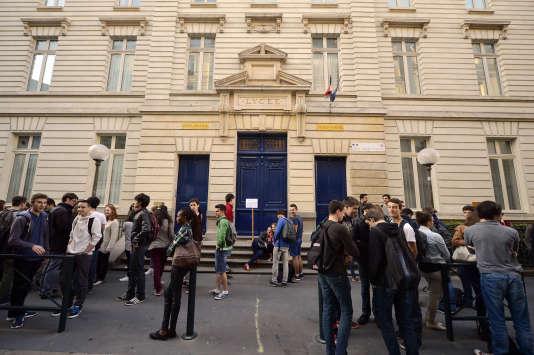 Le lycée Jules-Verne, à Nantes.
