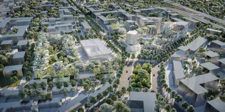 A Antony (Hauts-de-Seine) « l'Antonypôle». Autour de la future gare du Grand Paris Express (ligne 18), le projet porté par Linkcity se développe sur 62 250 m².Il se répartit entre l'îlot Gare (nord), à dominante résidentielle, et l'îlot Signal (sud), à vocation métropolitaine.