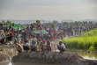 Les Rohingya ayant fui la Birmanie ne cesse d'affluer dans le camp dePalong Khali, Bangladesh, le 17 octobre 2017.