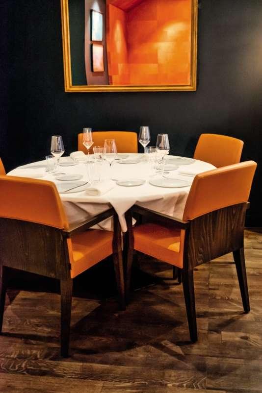 Le Comice, très chic restaurant de l'avenue de Versailles, à Paris.