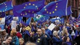 Alors que se tenait à Manchester le congrès des tories, 30000manifestants ont battu le pavé dans les rues de la ville, le 1eroctobre, pour réclamer l'arrêt du processus de sortie de l'Union européenne. Une mobilisation d'une ampleur inédite.
