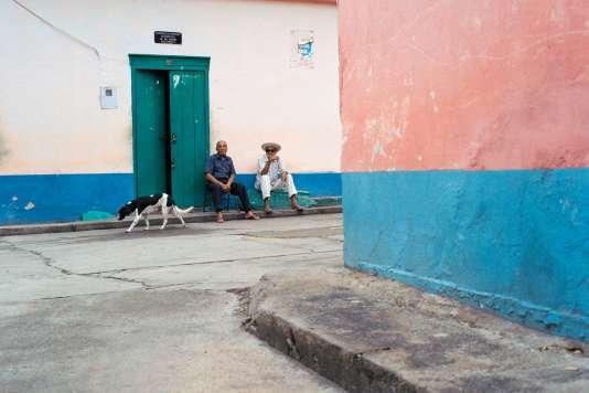 Refroidis par la crise économique et politique que traverse le Venezuela, les vacanciers ont déserté les rues de Choroní.