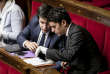 Le 17 octobre, Gabriel Attal et Pierre Person lors d'une séance de débat à l'Assemblée nationale sur la loi de programmation des finances publiques.